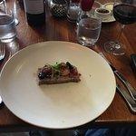 Duck terrine with foie gros berries etc