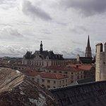 Les toits vu du Donjon d Niort