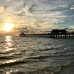 Point, shoot, and capture a great shot of the Naples Pier at sunset!