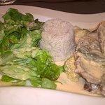grenadin de porc au curry rouge et gingembre