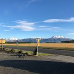 view from car park to Mt Hutt