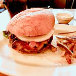bacon cheeseburger....yummmm!