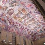 ルネサンス時代の最高傑作と数えられる、システィーナ礼拝堂天井画!