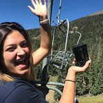 Chairlift to top of Snow Bowl
