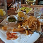 Yummy fish and chips!