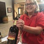 Wine tasting with Miss Jean