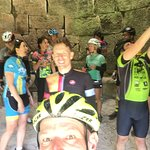 Bluegrass Cycling Club visiting Fitchburg Furnace and Cobhill.