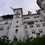 Castle exterior ...
