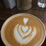 Coffee made with love.