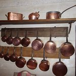 la cuisine et ses cuivres