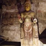 inside the cave buddha statues