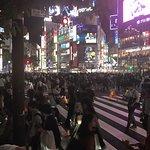 Foto van Shibuya Crossing