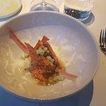 paling met foie gras