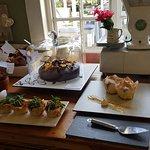 Sagewood Cafe - cake selection