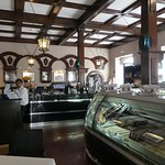 Inside the Ritz cafe, Funchal