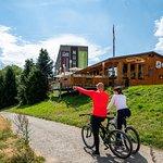 Radfahren am Fichtelberg