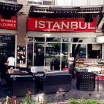 Day time views of Istanbul Palace Restaurants with beautiful location and fresh foods alaway wel