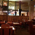 """The interior is really rustic .. the old Royal Navy bread ovens are an amazing """"feature"""" .."""