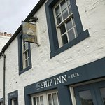 Street view of the entrance to The Ship Inn