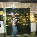 Bärnstenssamlingarna i den nedre delen av museet !