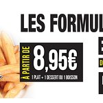 Formule du midi en semaine 8.95 €
