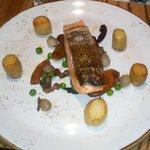 Roast salmon £14.50