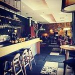 Günther Cafe from inside.