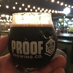 Coffee Stout in the moonlight!