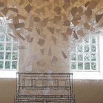 Chiharu Shiota in the Chapel - installation art Beyond Time - must be seen, beautiful