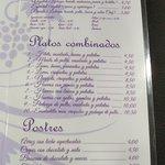 Pescados, sandwiches, platos combinados y postres en el Amaya Bus Bar