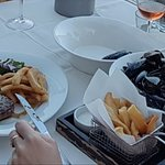 Sirloin Steak and Classic Moules Frites