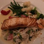 This salmon was cooked to perfection! Wow!