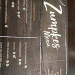 De menukaart