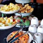 Brunch dessert table