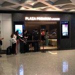Foto de Plaza Premium Lounge (Shower & Relaxation)