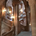 One of the Capitol's staircases