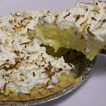 Made in - house Coconut Cream Pie....DELICIOUS !
