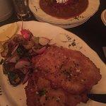 Schnitzel and goulash