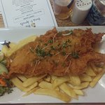 Large fish & chips