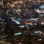 Vista al centro histórico de Quito
