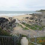 Barricane beach at low tide