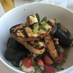 shelled seafood medley