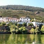 A view of a Quinta along the Douro River