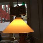 Vill du ha service tänd den lilla gröna lampan
