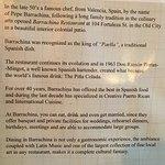 Barrachina History