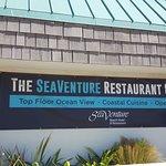 SeaVenture Restaurant Sign