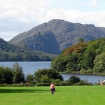 view from Muckross House at Killarney National Park