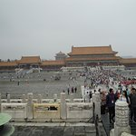 The forbidden city on a Sunday so was very busy with locals as well as tourists.
