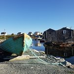 boat in peggy's cove