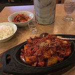 Pork and kimchee - comfort food that never gets old!